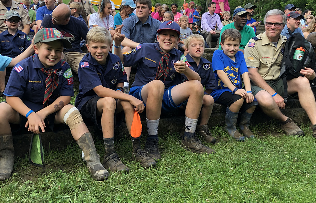 webelos at cub world scouts