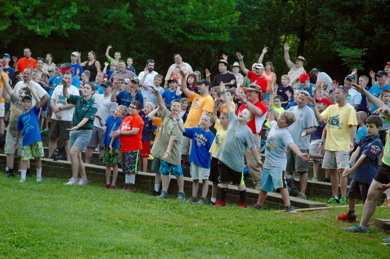 camp singing cub world scouts